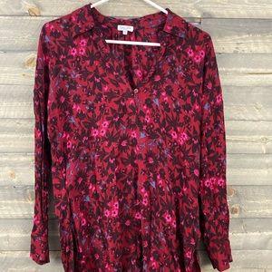 Splendid floral Long sleeve blouse